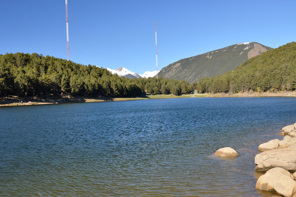 Engolasters Lake