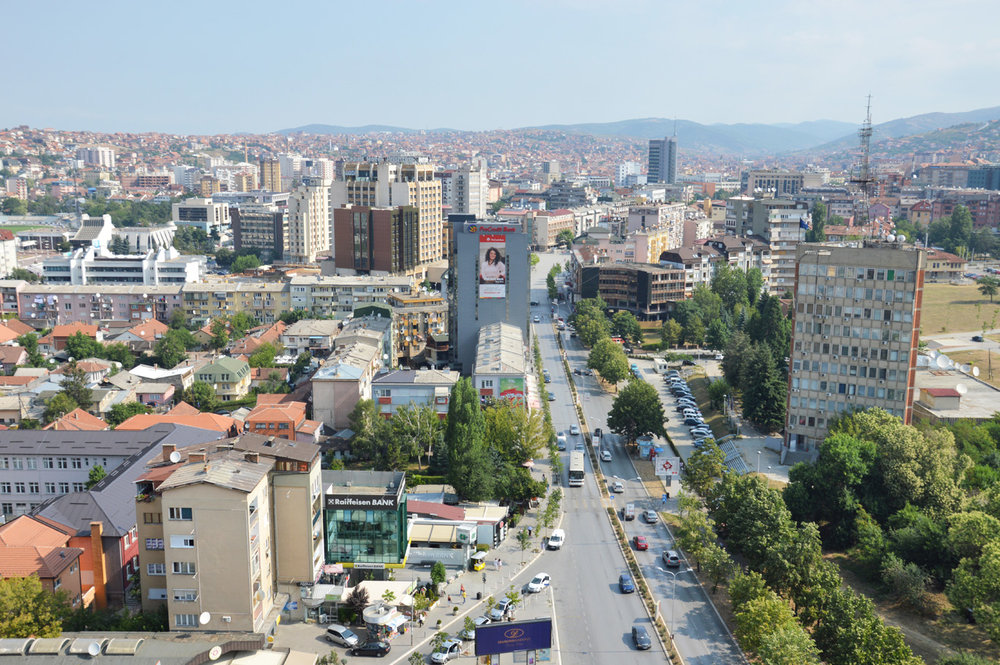 Prishtina city center