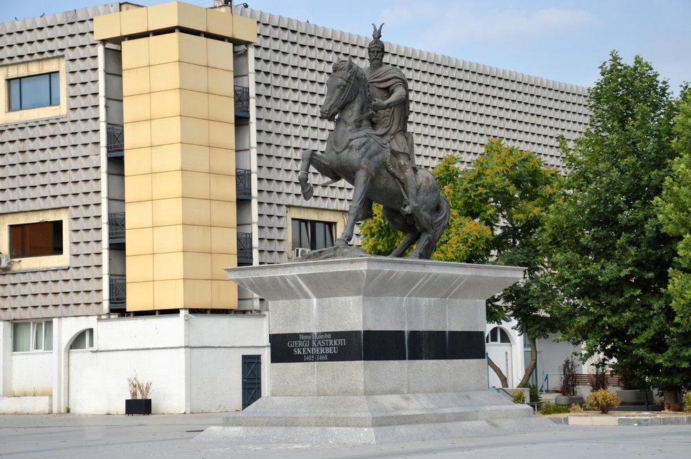 Gorge Castriot (Skanderbeg) Monument
