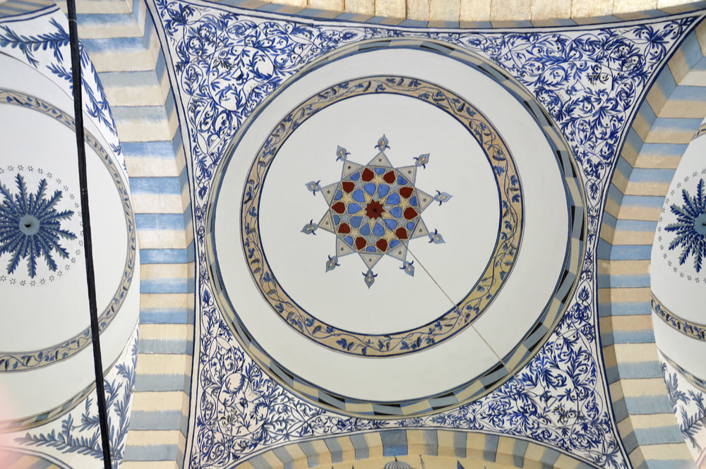 Decorative details in the mosque