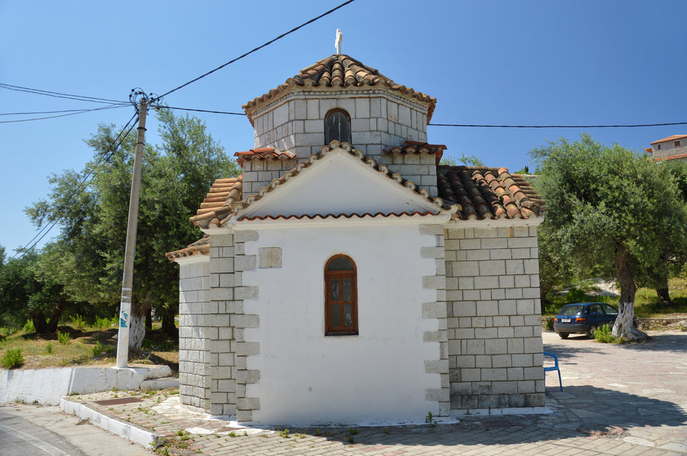 Old church in Himare old town