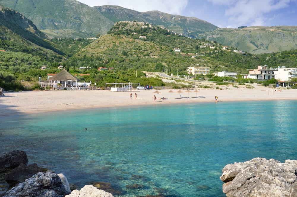 Livadh beach