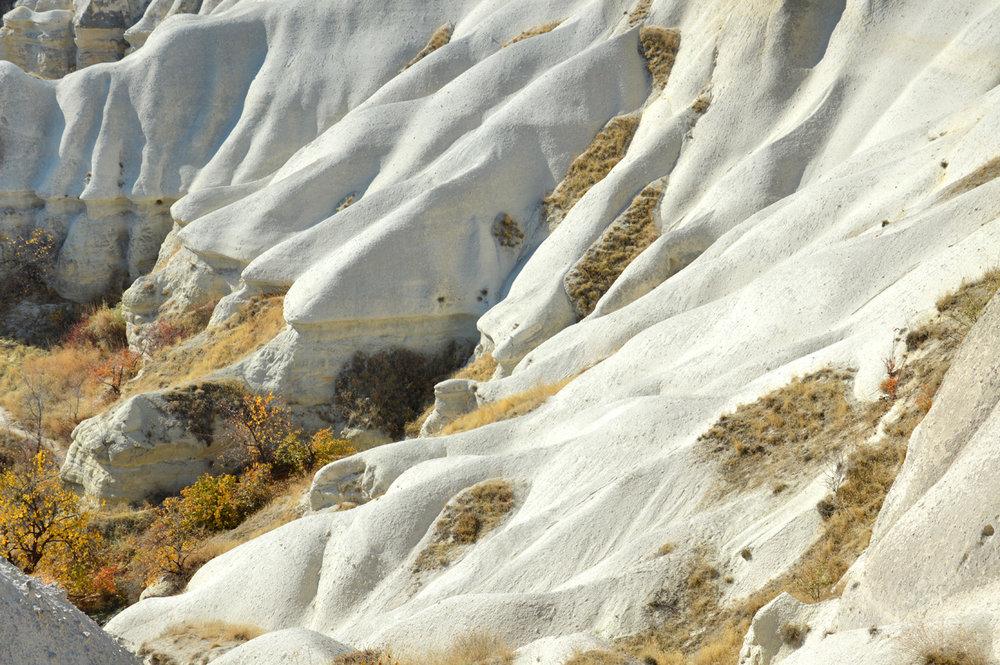 Initial phase of erosion