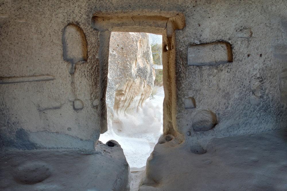 St. Simeon's cell inside