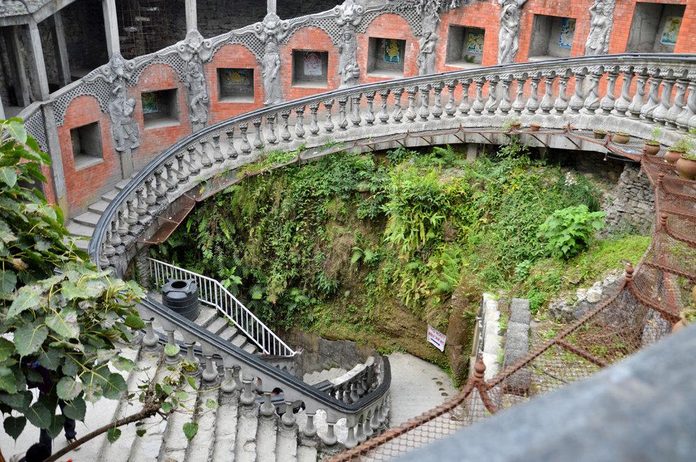 Staircase to Gupteshwor Mahadev cave