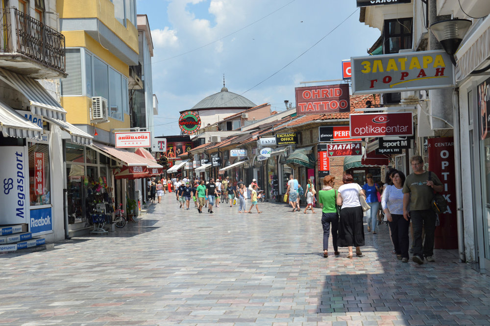Bazaar in Ohrid