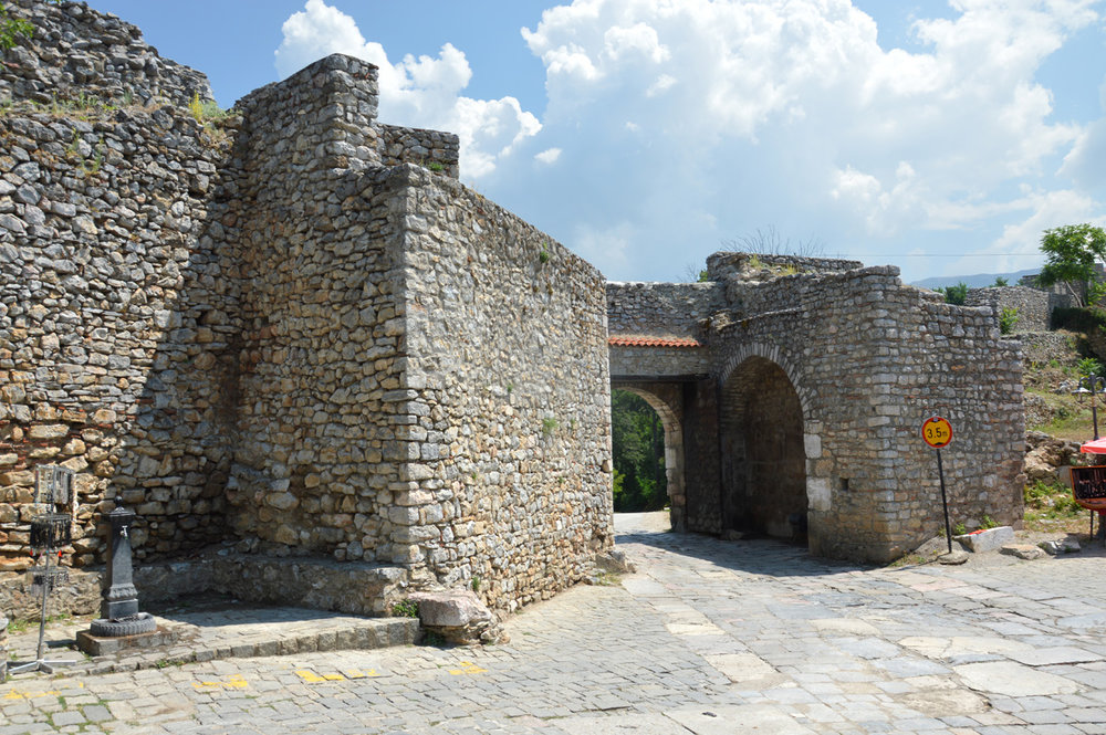 Eastern gate in Ohrid