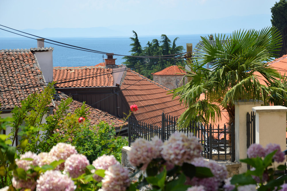 Red roofs and Mediterranean atmosphere