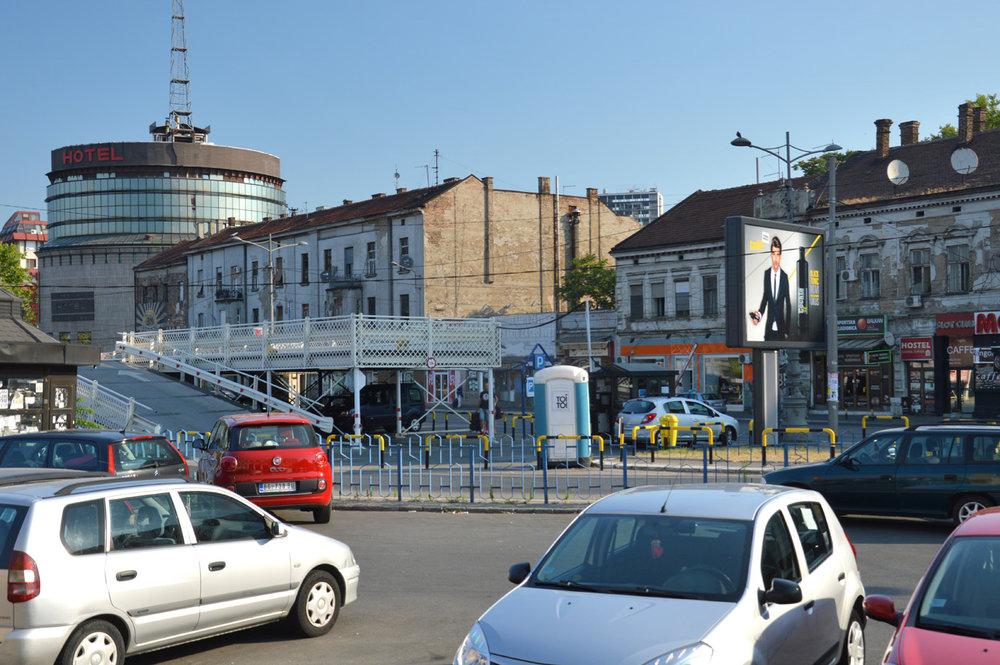 Belgrade at the station
