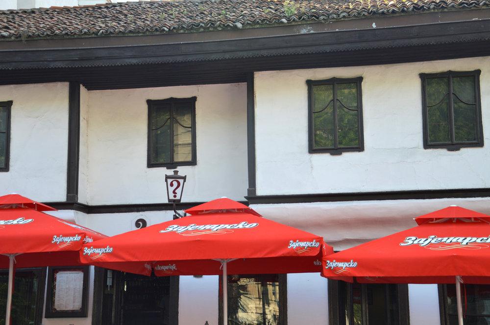 Ottoman style cafe