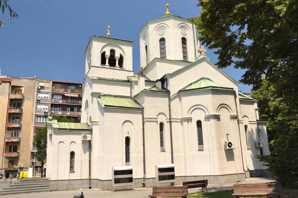 Chapel near Saint Sava Church
