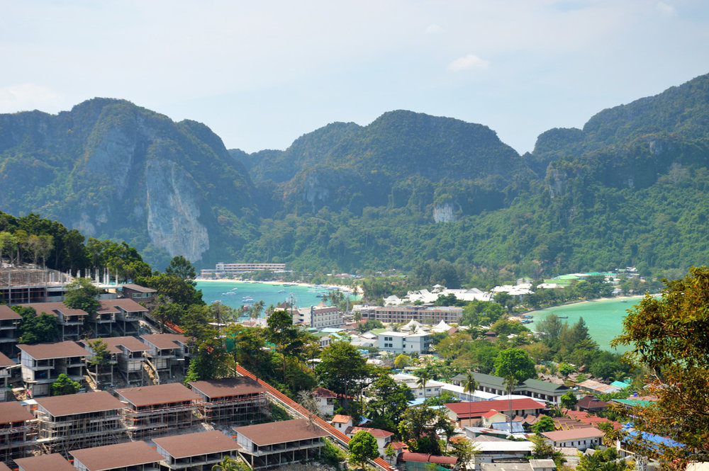 The view from the view point - Ko Phi Phi Don