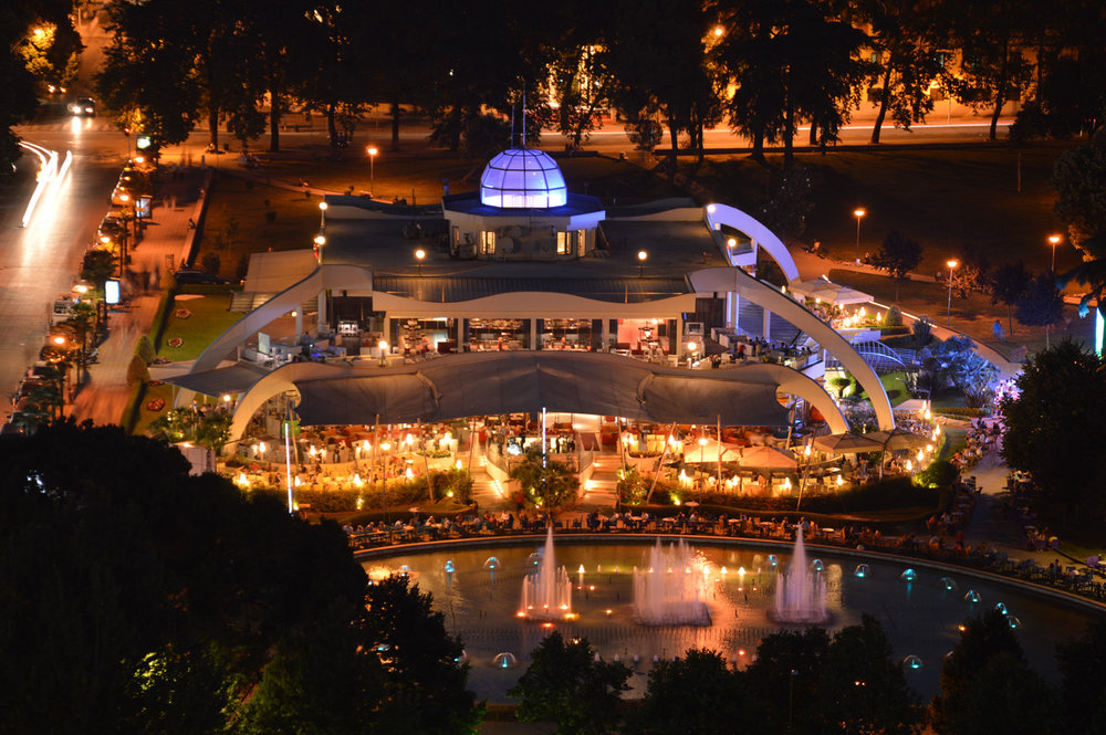 Restaurants in Rinia Park
