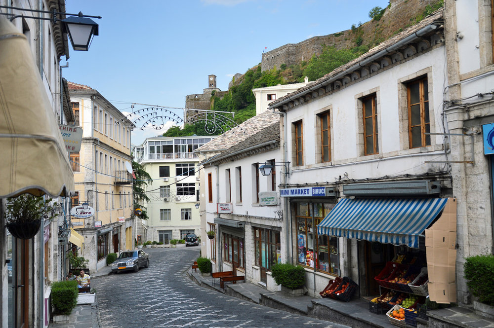 Gjirokaster old town