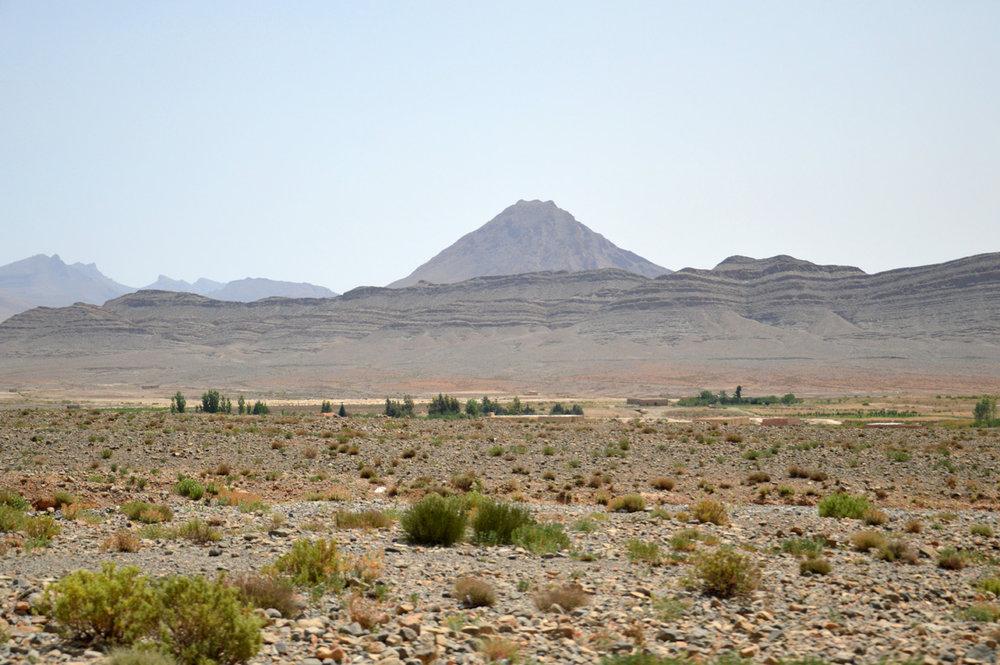 Dry, barren landscape