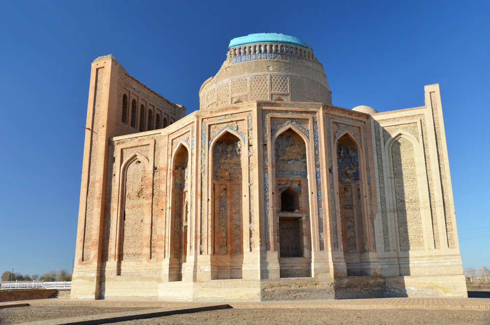 Turabek Khanum Mausoleum - the side