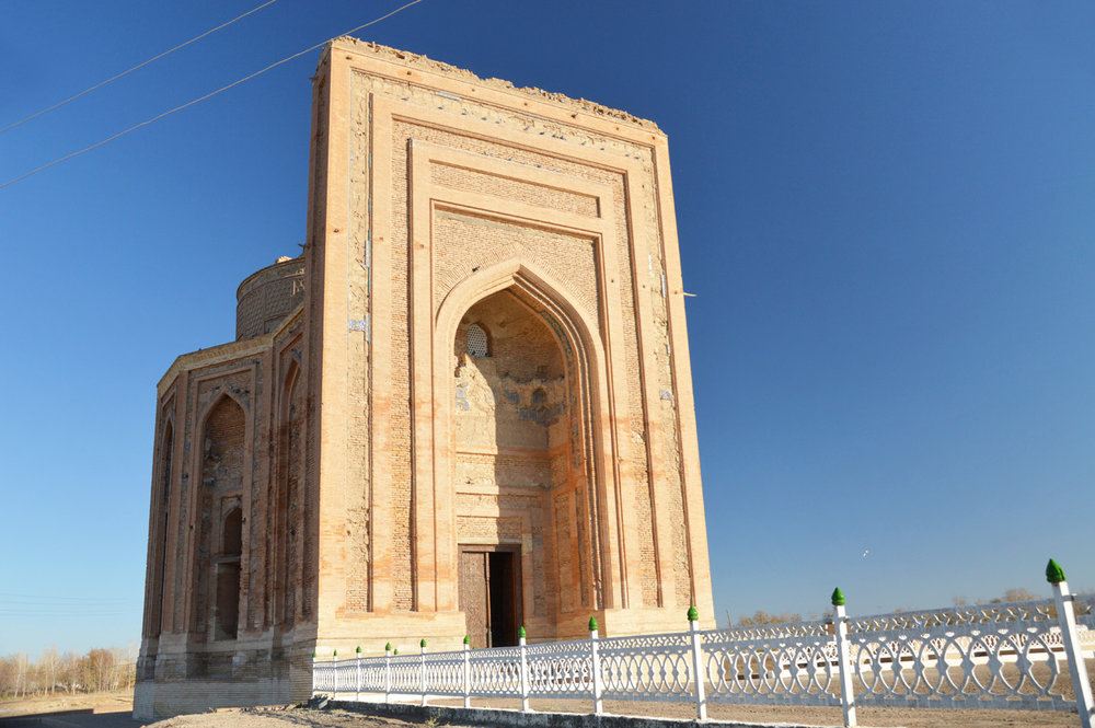 Turabek Khanum Mausoleum - the main gate