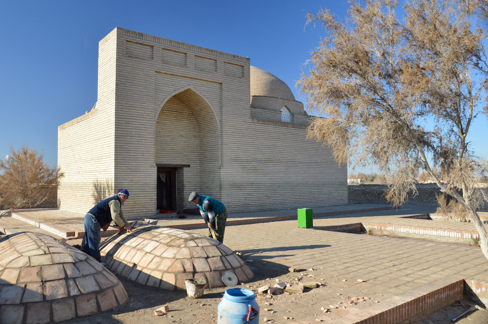 A local mosque - renovation works