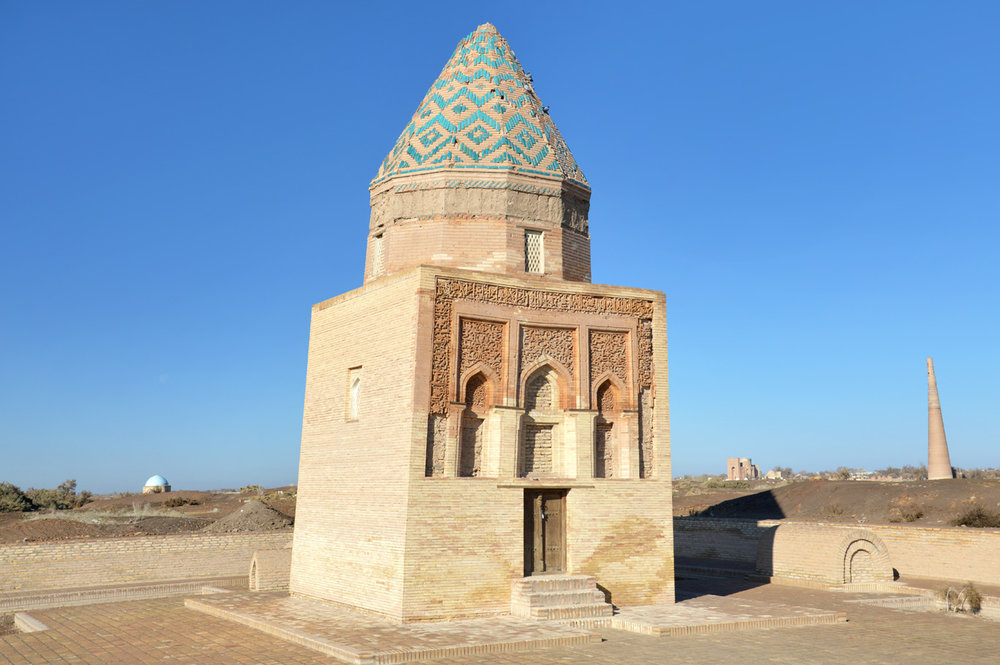 II Arslan Mausoleum - the oldest in Urgench
