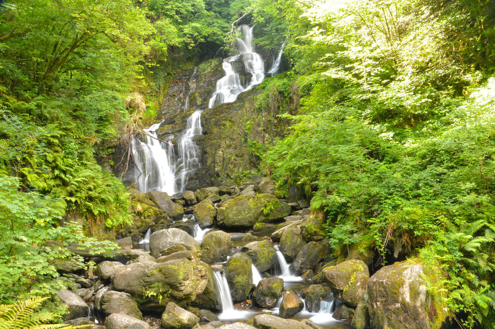 Torc Waterfall in Killarney National Park