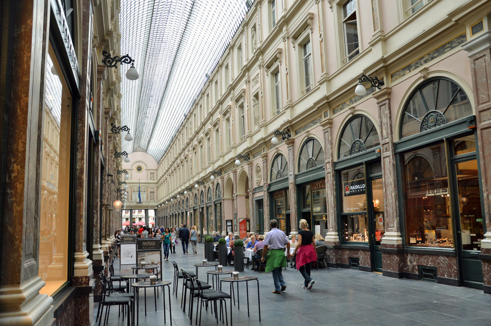 Galeries Rolayes Saint-Hubert