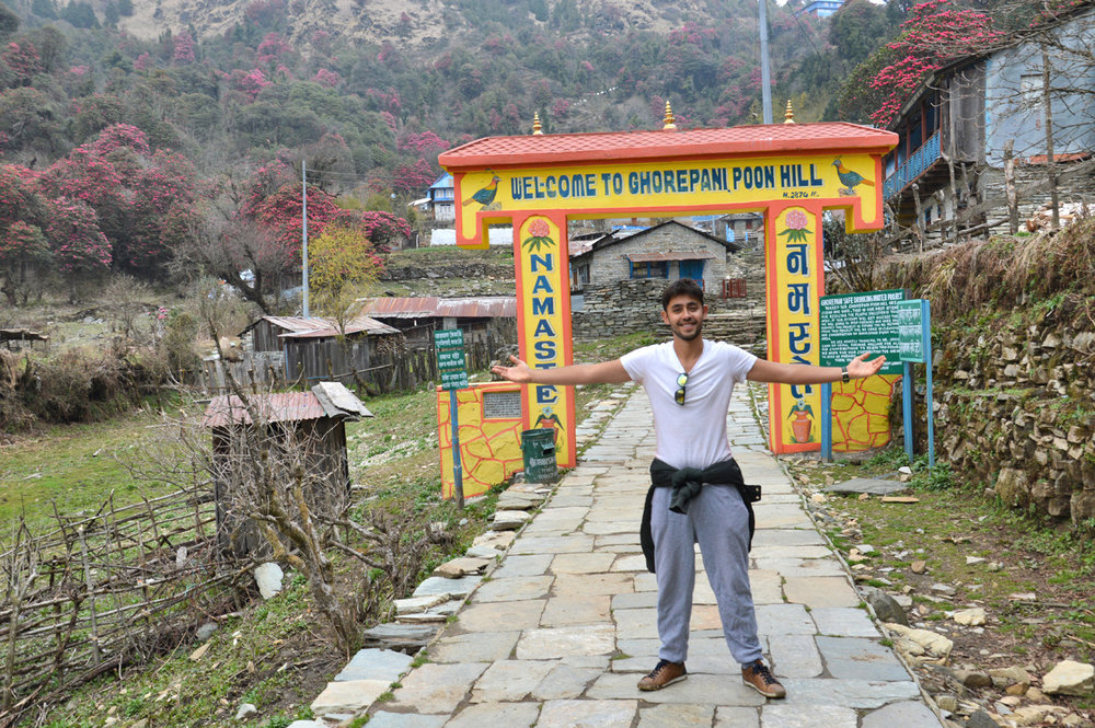 Gate to Ghorepani