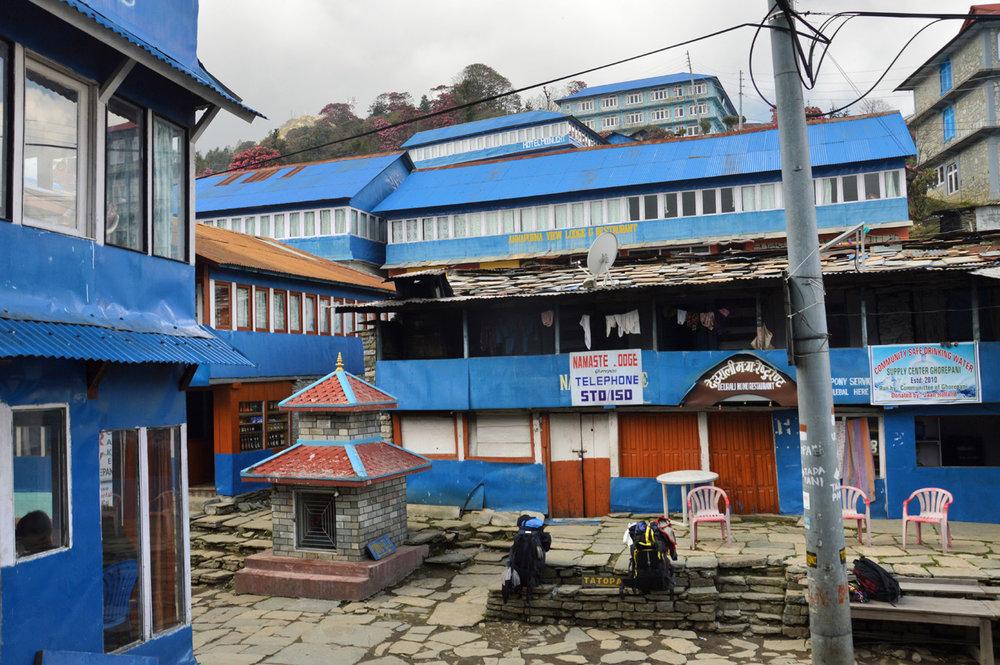 Ghorepani Village