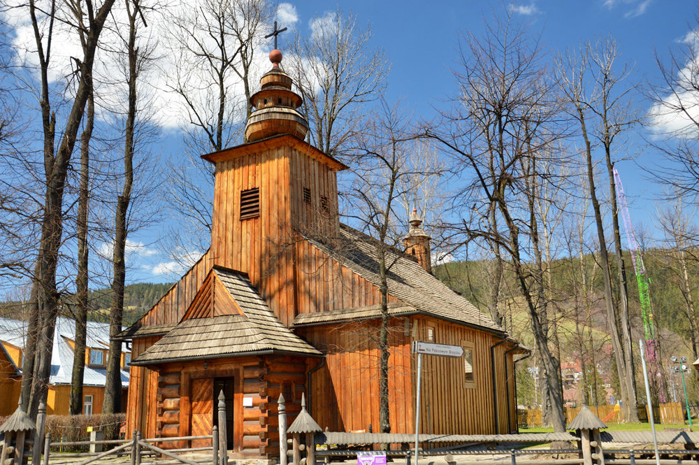 The oldest wooden church in Zakopane
