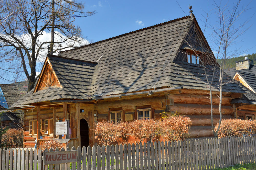 The museum of the architectural style of Zakopane