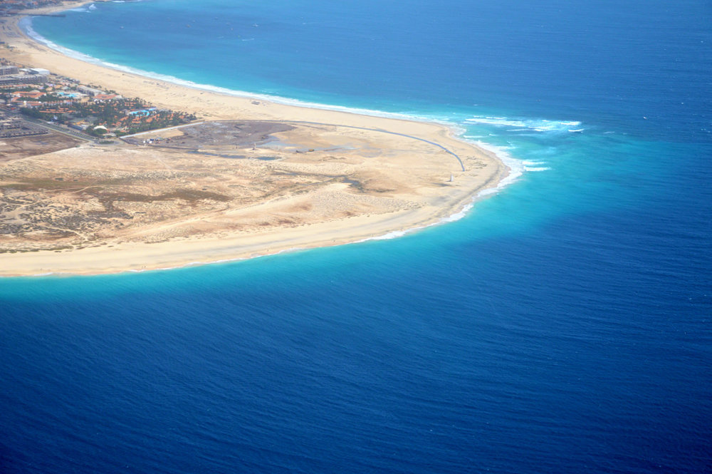Sal - aerial view