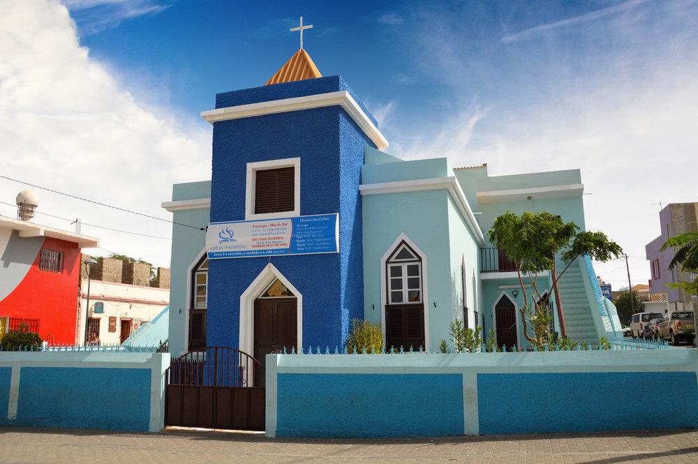 Church in Espargos