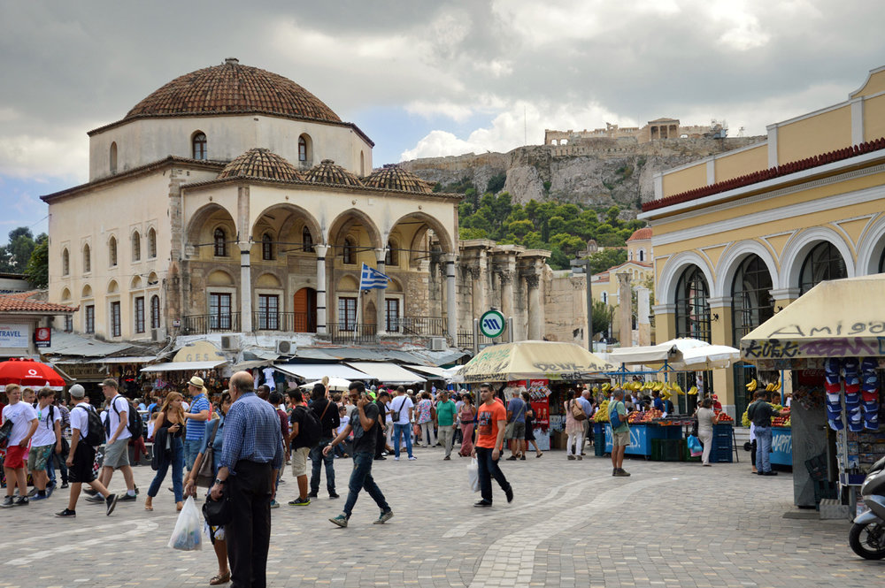 Monastiraki Square - Tzistarakis Mosque
