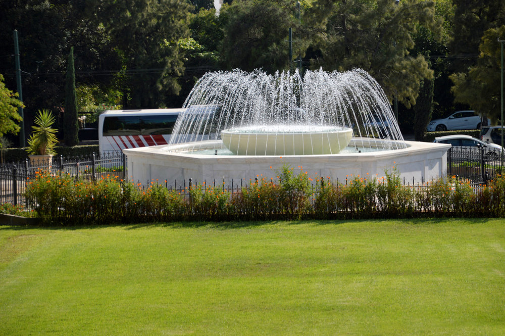 Fountain at National Gardens