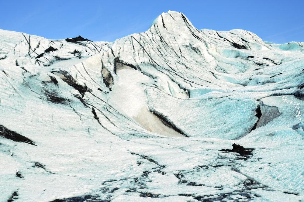 Sólheimajokull glacier