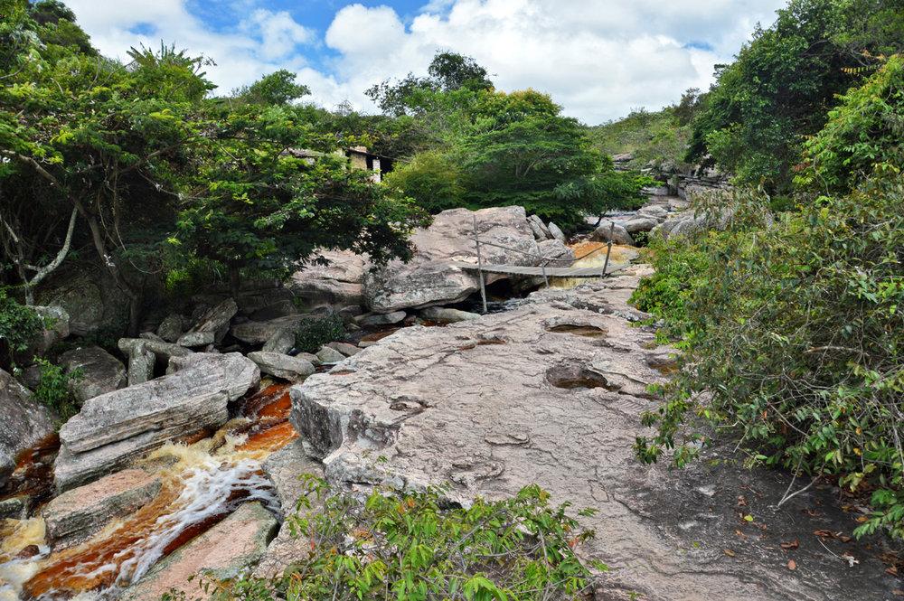 At the Mucugezinho river