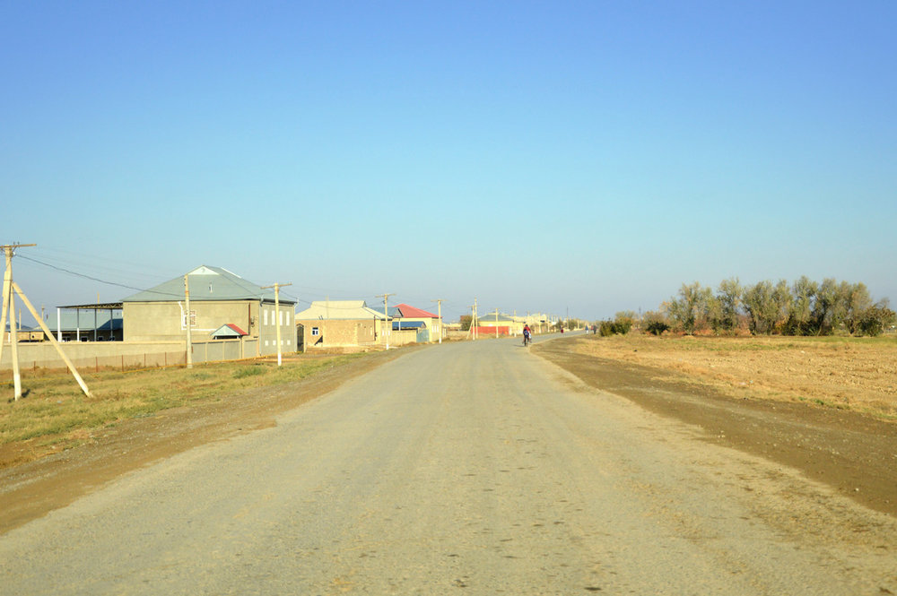 A village beside Merv