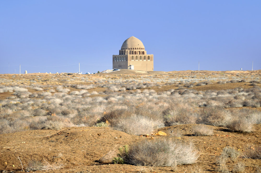 Sultan Sanjar Mausoleum in the middle of nowhere
