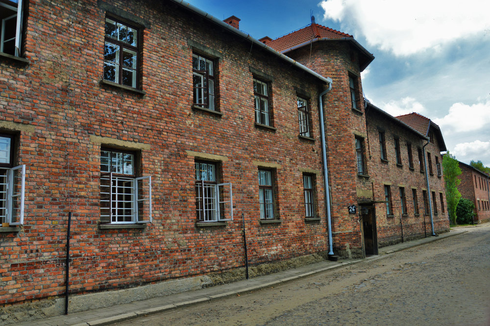 Barracks at Auschwitz I