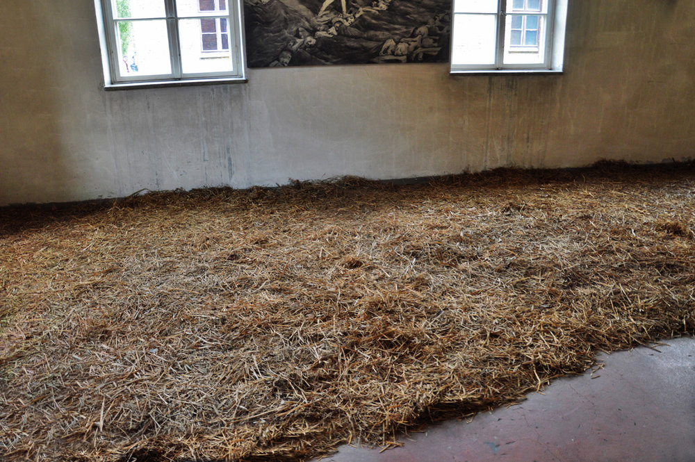 Bedding in Auschwitz I