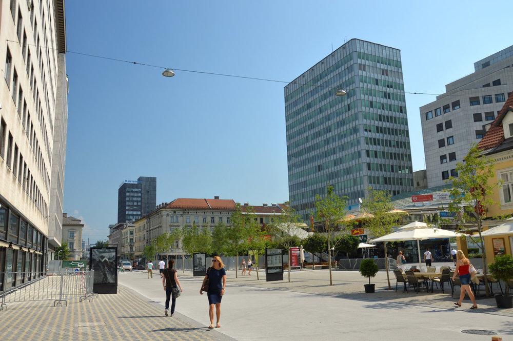 Modern Ljubljana