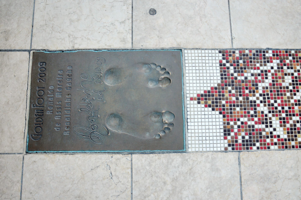 Walk of fame in Monaco