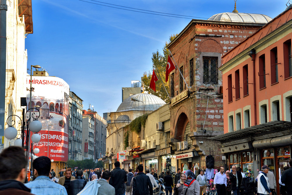 Old part of Istanbul - near Grand Bazaar