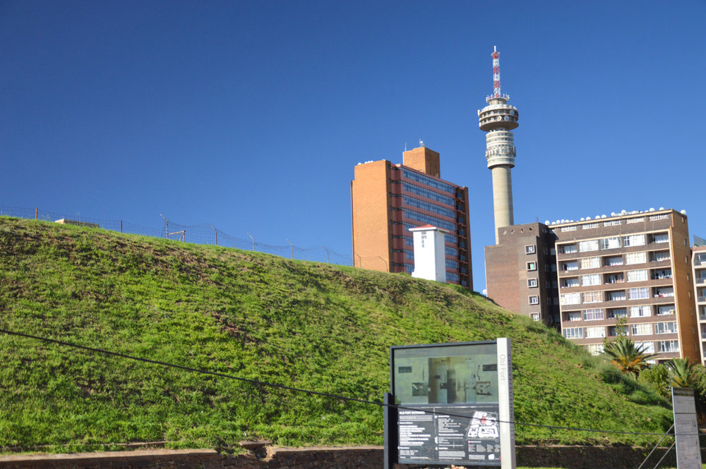Constitution Hill and Hillbrow Tower