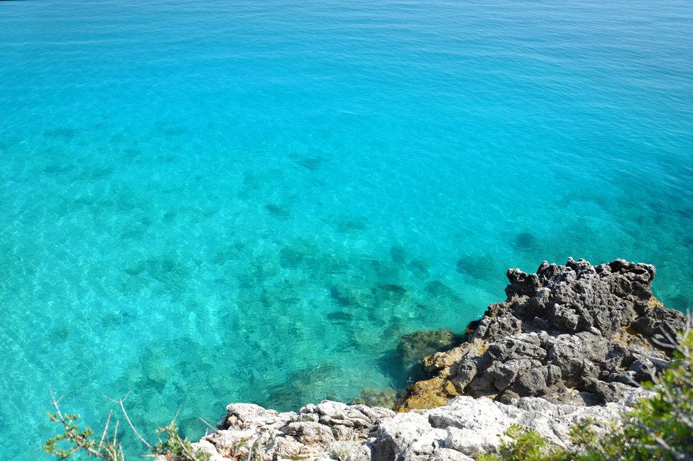 Crystal clear Ionian Sea