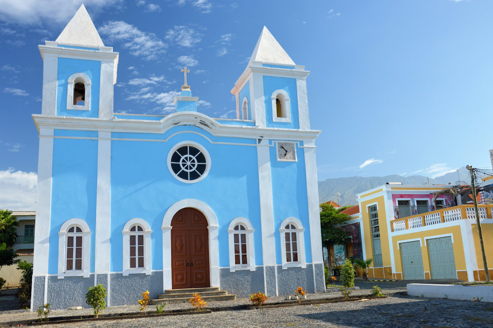Beautiful church in Sao Filipe