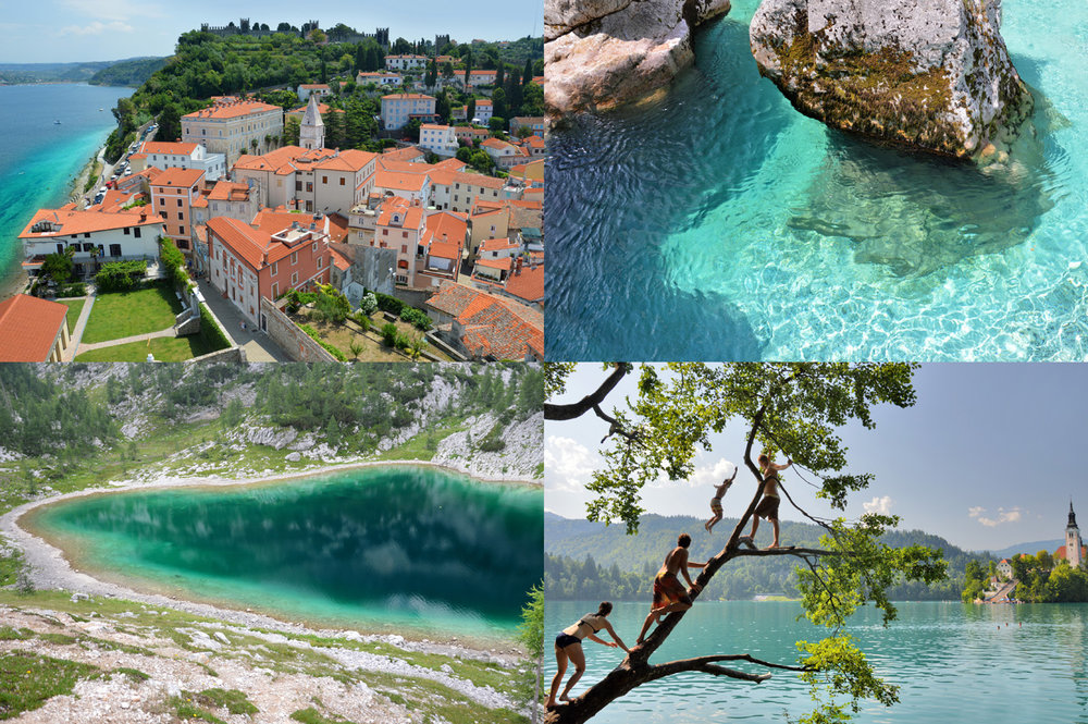 Slovenia: Piran, Soca, Triglav lake and Bled