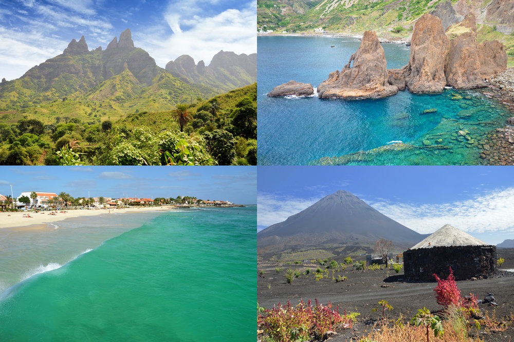 Cape Verde islands: Santiago, Brava, Sal and Fogo