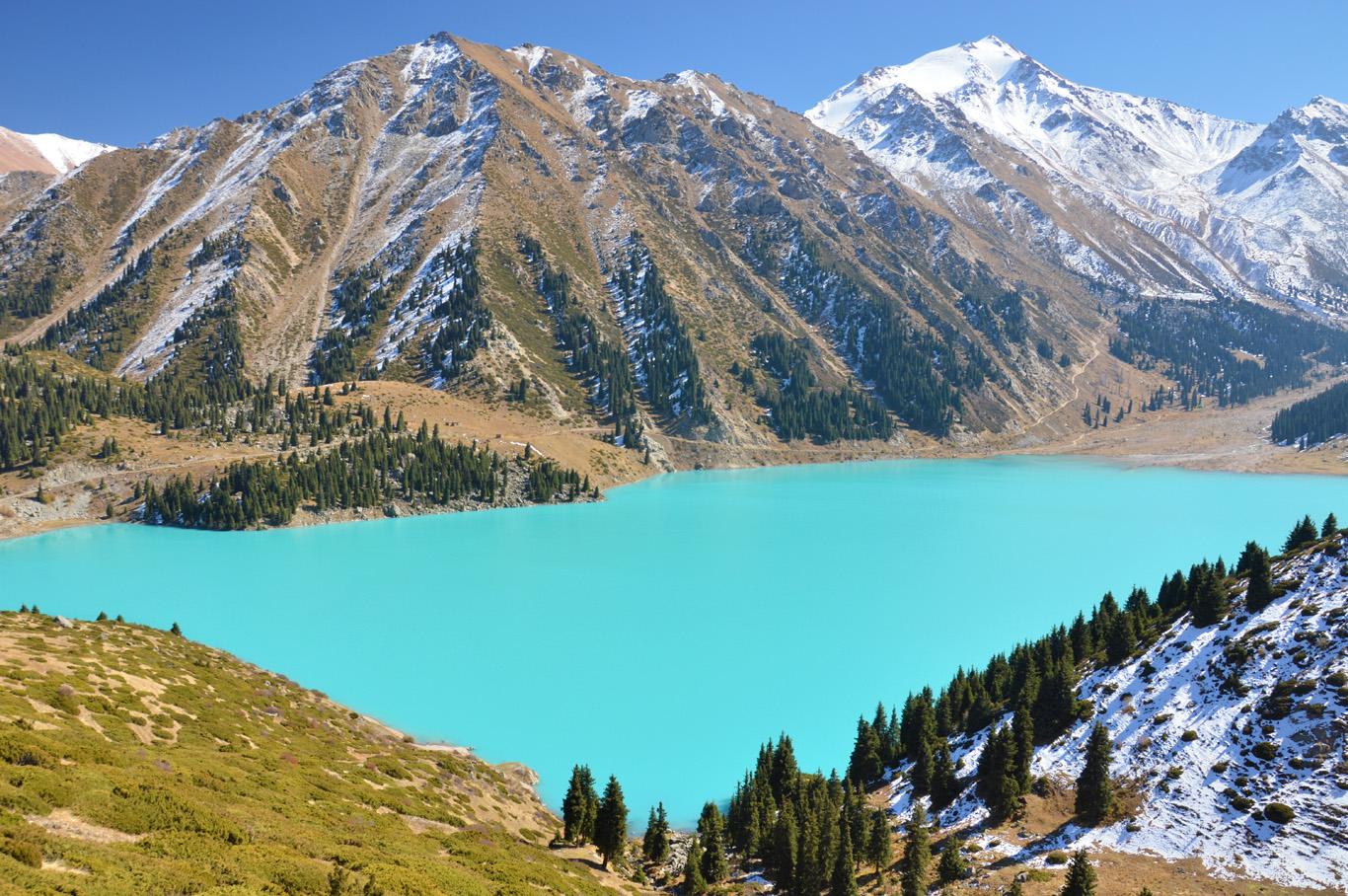 พาเที่ยว ทะเลสาบแห่งคาซัคสถาน ที่สวยจนนึกว่าอยู่ยุโรป