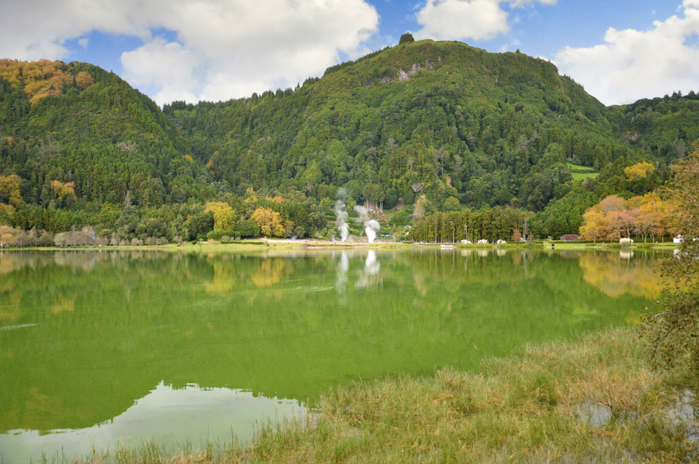 Lagoa das Frunas - Furnas crater lake