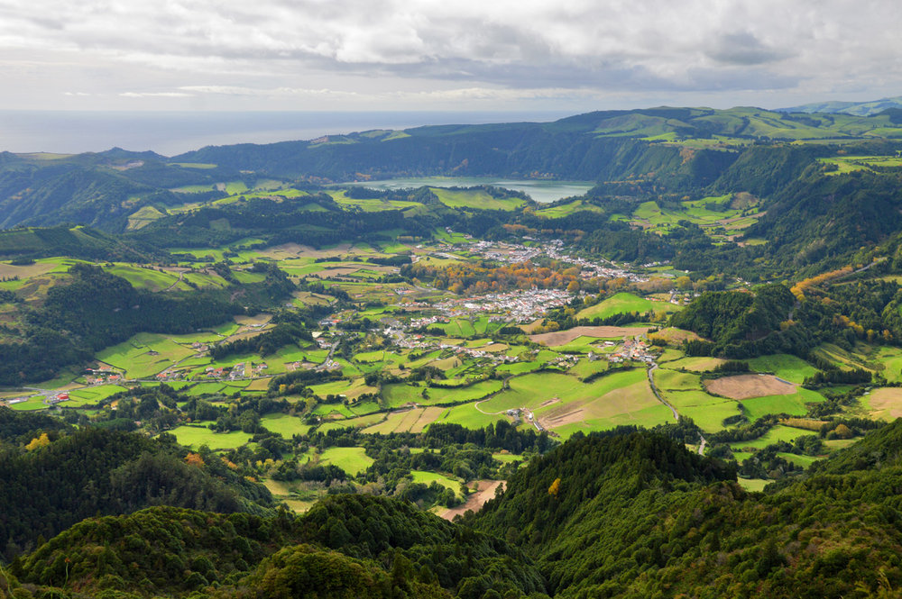 View of Furnas Valley